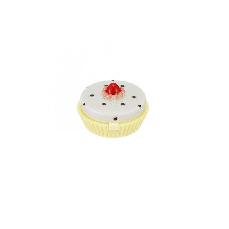 Dessert Time Lip Balm Ad 03(Peach Cup Cake)
