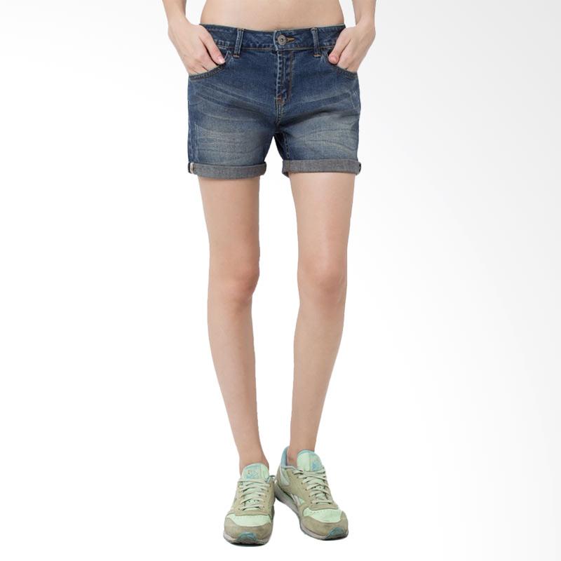 Ladies Short Venuzz RU Hotpants - Blue