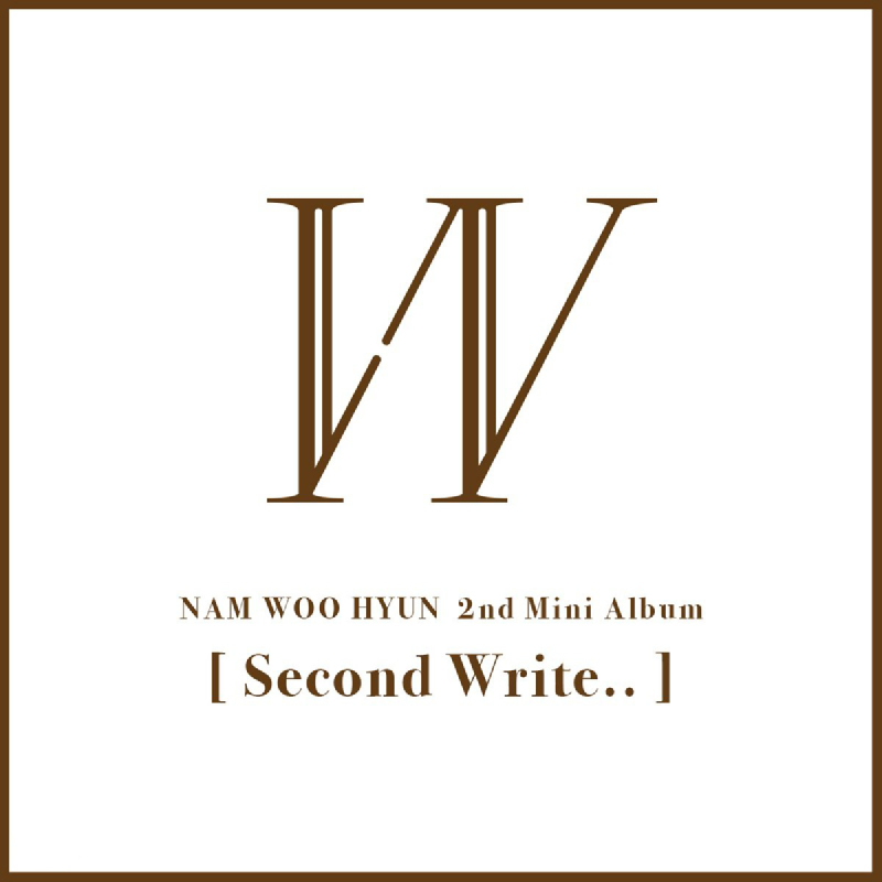 [CD] Nam Woohyun - 2nd Mini Album - Second Write.. (A ver.)