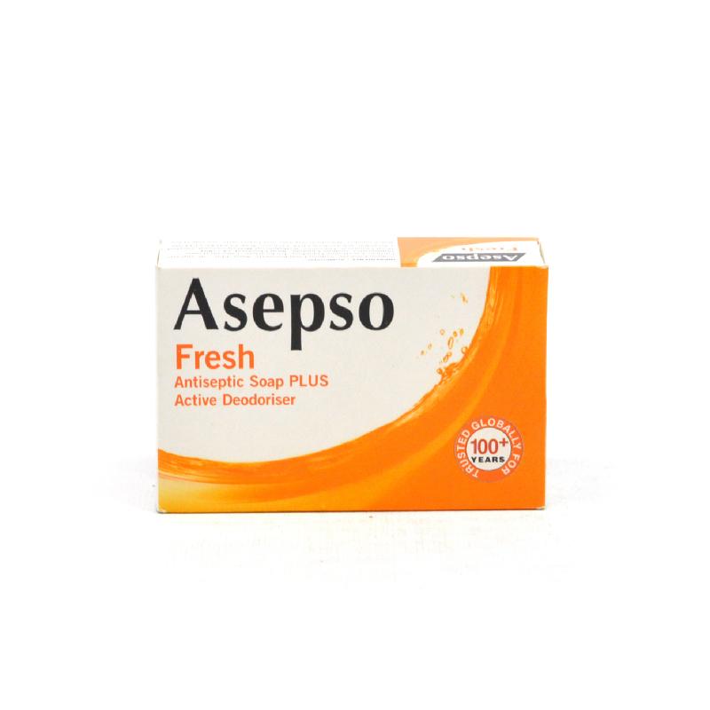 Asepso Soap Fresh Orange 80 Gr