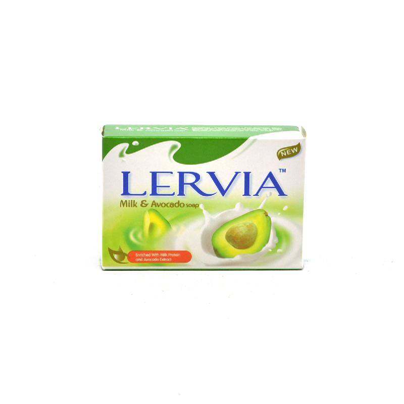 Lervia Barsoap Milk & Avocado 90Gr