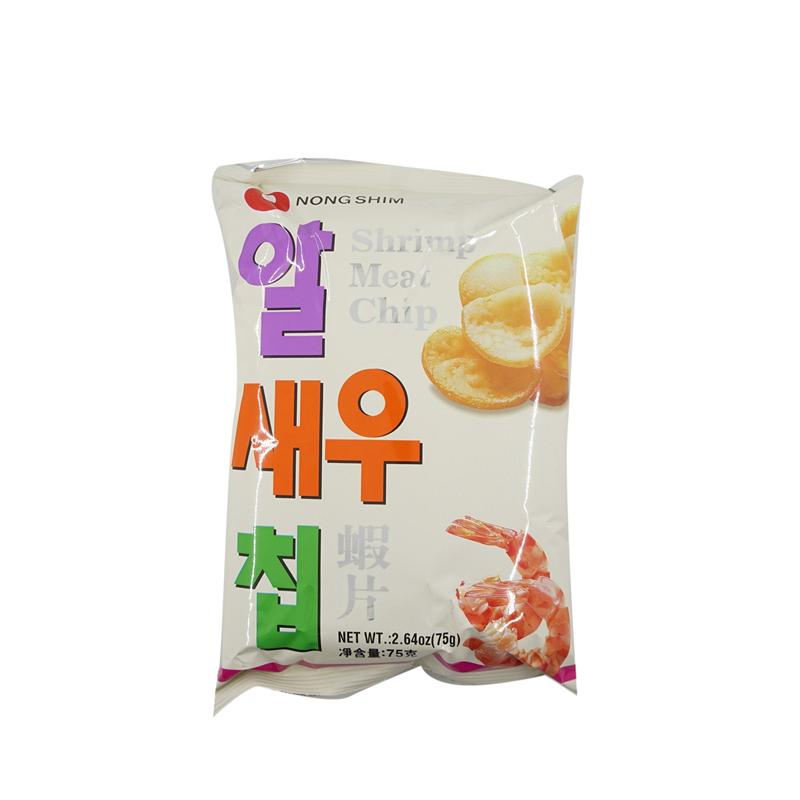 Nongshim Shrimp Meat Chips 75 Gr