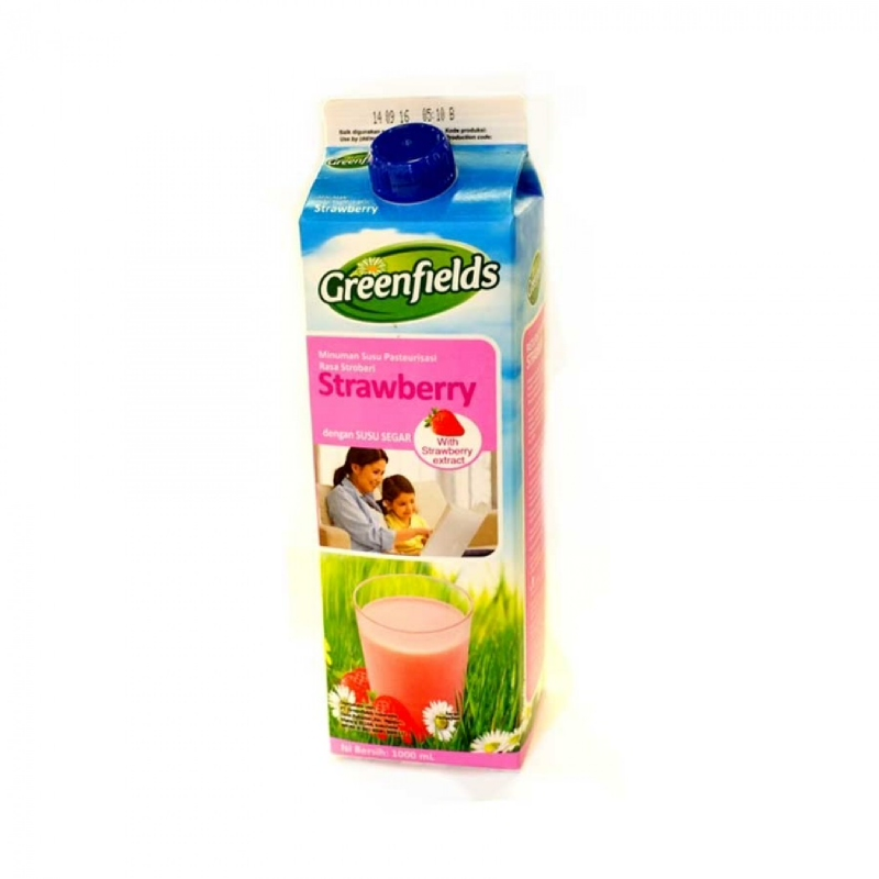 Greenfield Freshmilk Strawberry 1000Ml