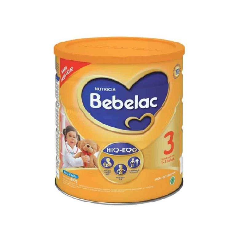 Nutricia Susu Bubuk Bebelac 3 Vanila Tin 800 G