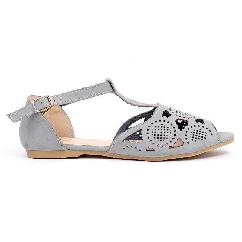 Austin Flat Shoes Pennie Grey
