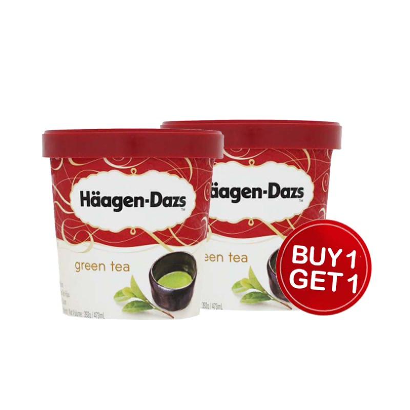 Haagen Dazs Green Tea 473 Ml (Buy 1 Get 1)