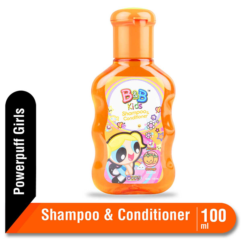 B&B Kids Shampoo and Conditioner Orange 100 Ml