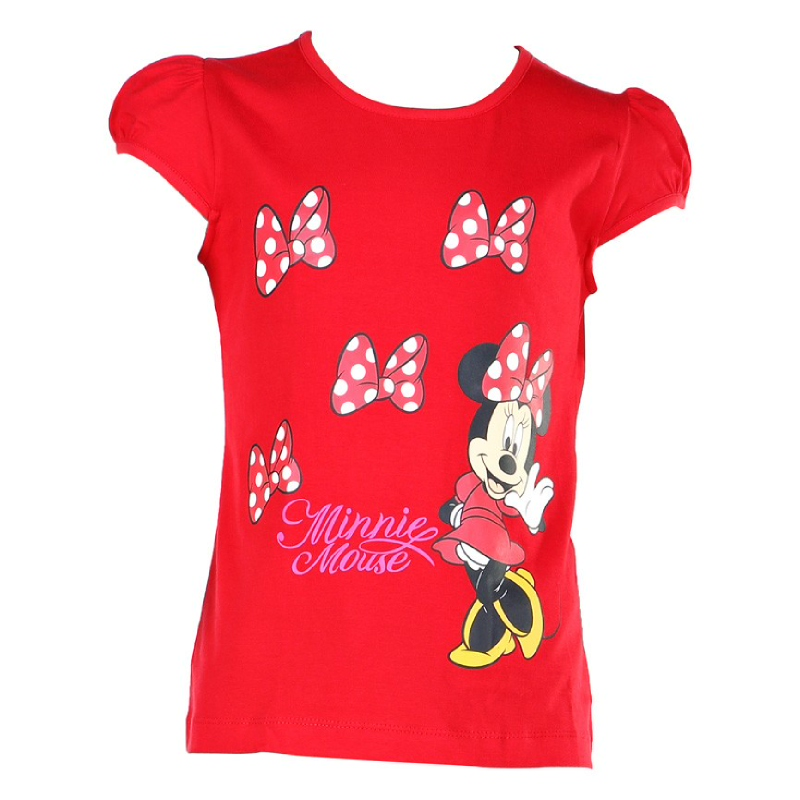 Minnie Mouse Sleeveless T-Shirt Red
