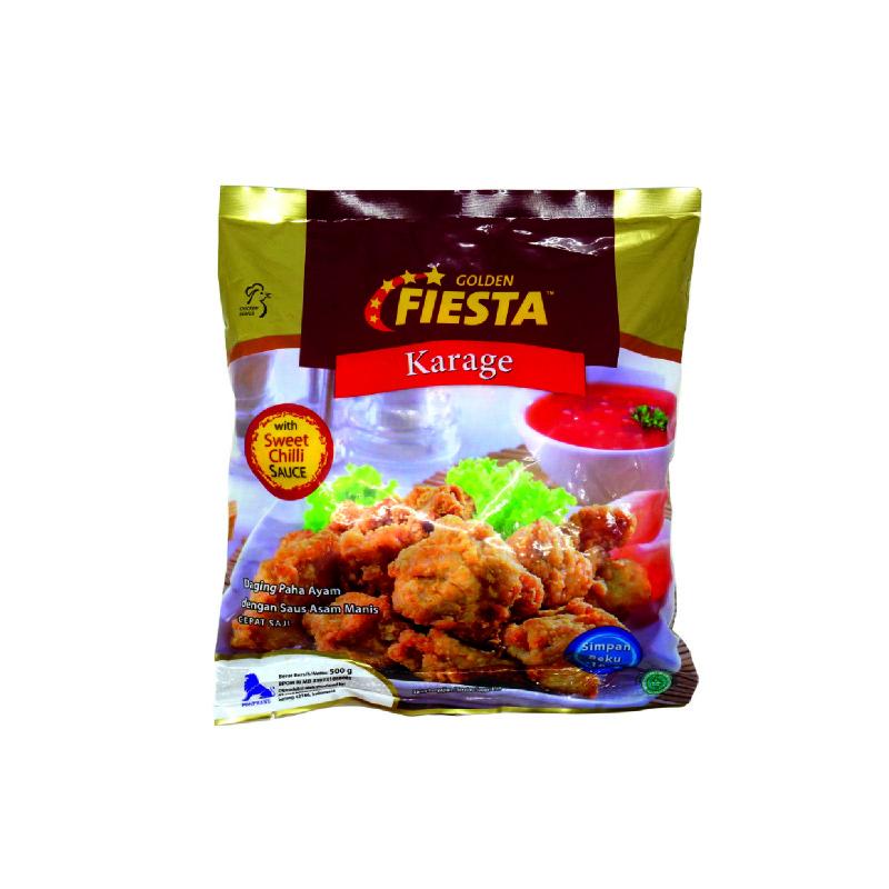 Golden Fiesta Karage With Sweet Chilli Sauce 500G