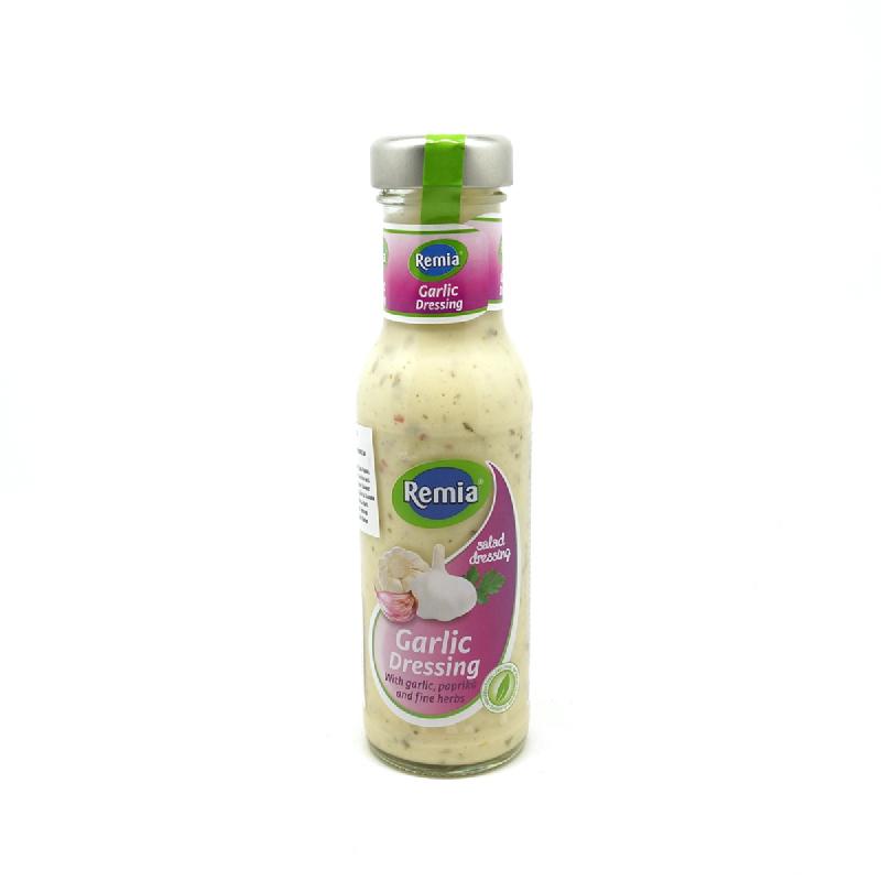 Remia Salad Dressing Garlic Bottle 250Ml