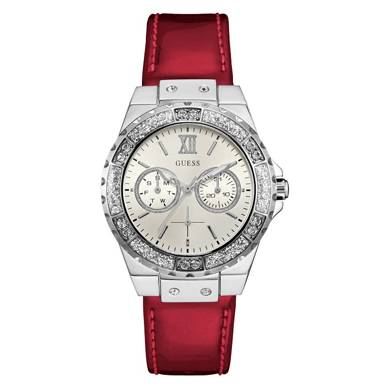 Guess Women Watch Analog W0775L116 Red