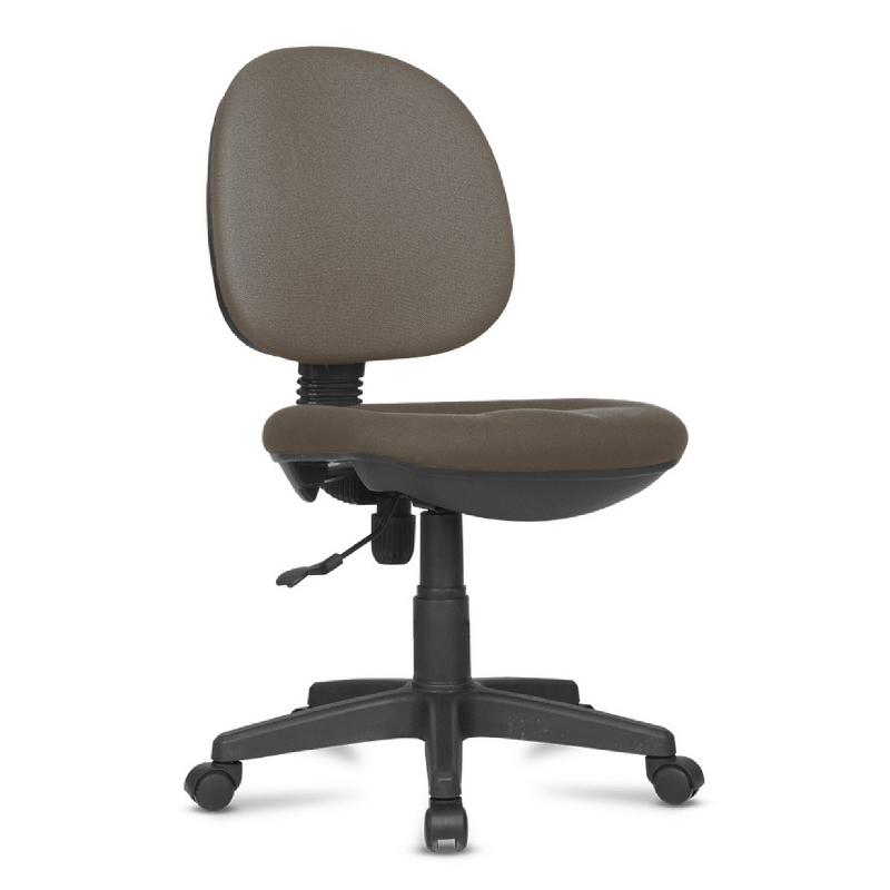 Kursi kerja kursi kantor BK Series - BK23 Brown - PVC Leather