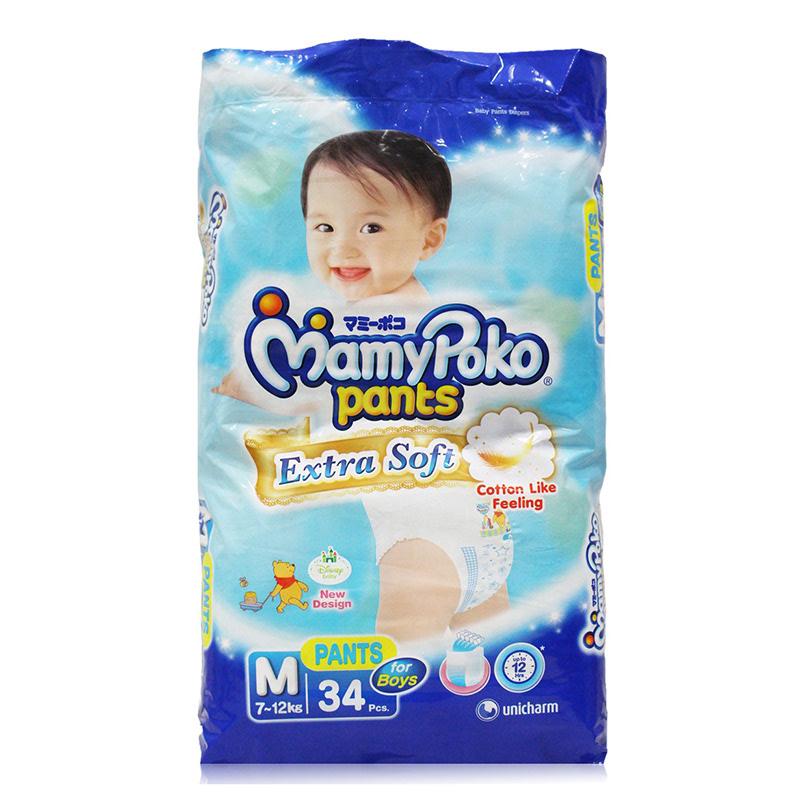 MamyPoko Popok Celana Royal Soft M 34S Boy