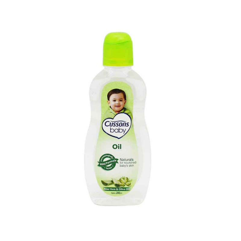 Cussons Baby Oil Natural 200 Ml