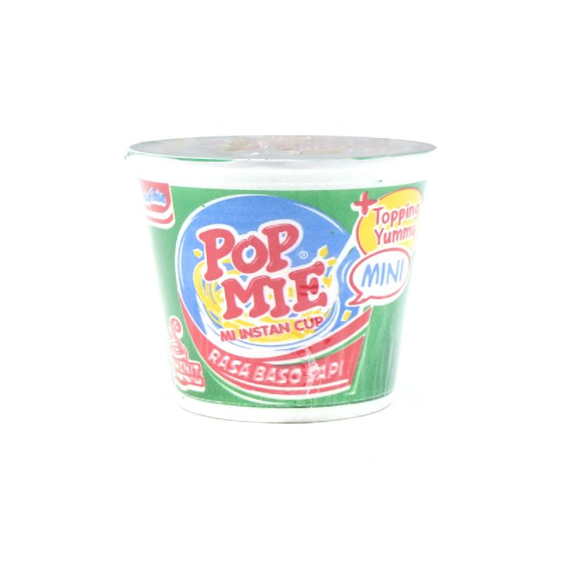 Pop Mie Mini Baso Sapi 35 Gr