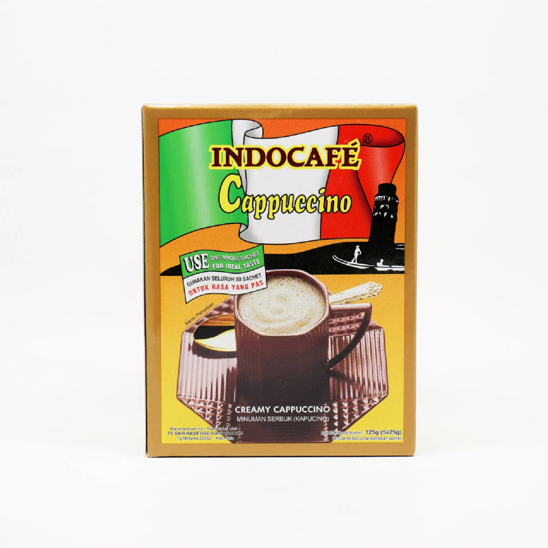 Indocafe Cappuccino 5 X 25 Gr