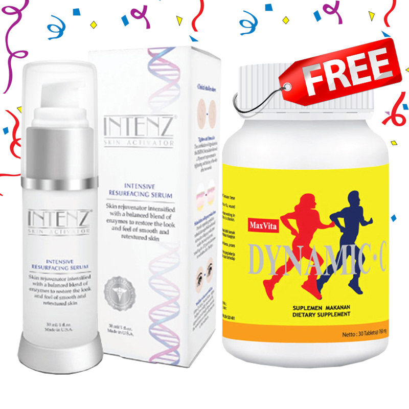 Life Pharm Intenz Resurfacing Serum FREE Dynamic C 250 30 Tabs