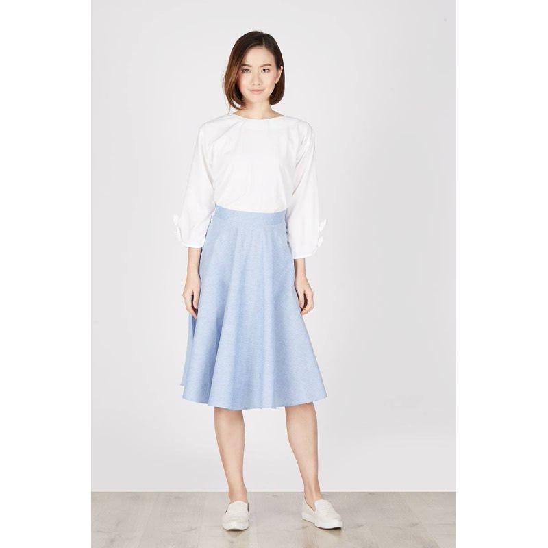 Hera Light Blue Skirt