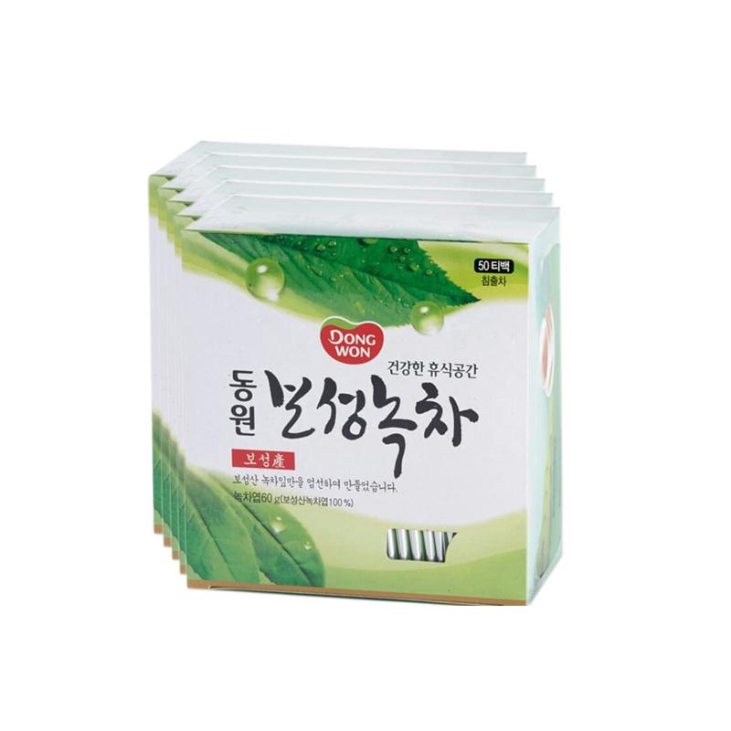 Boseong Green Tea isi 60 pcs (Tea Bags) 5 pcs