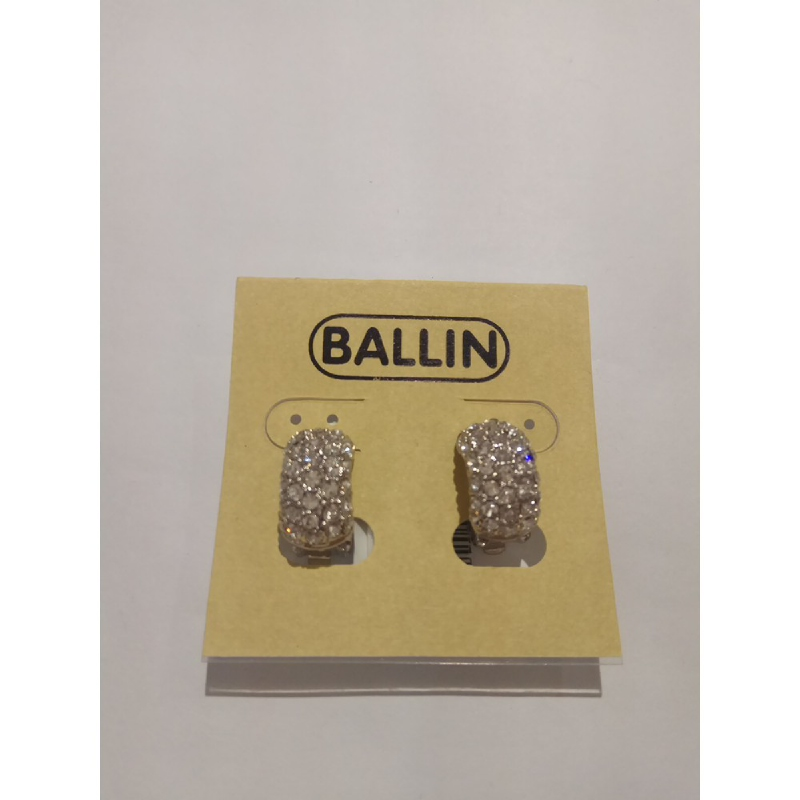 Ballin Women Earing GD-E22895S Silver