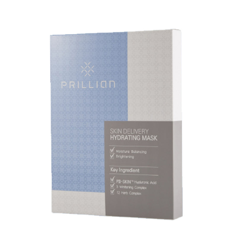 Prillian Skin Delivery Hydrating Mask 5pcs