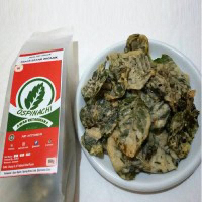 Bayam Organic Ospinachi Rasa Original & Pedas (Isi 4 pcs 2pcs)