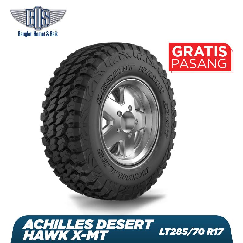 Achilles Ban Mobil Desert Hawk X-MT - LT285-70 R17 8PR 121-118Q - GRATIS JASA PASANG DAN BALANCING