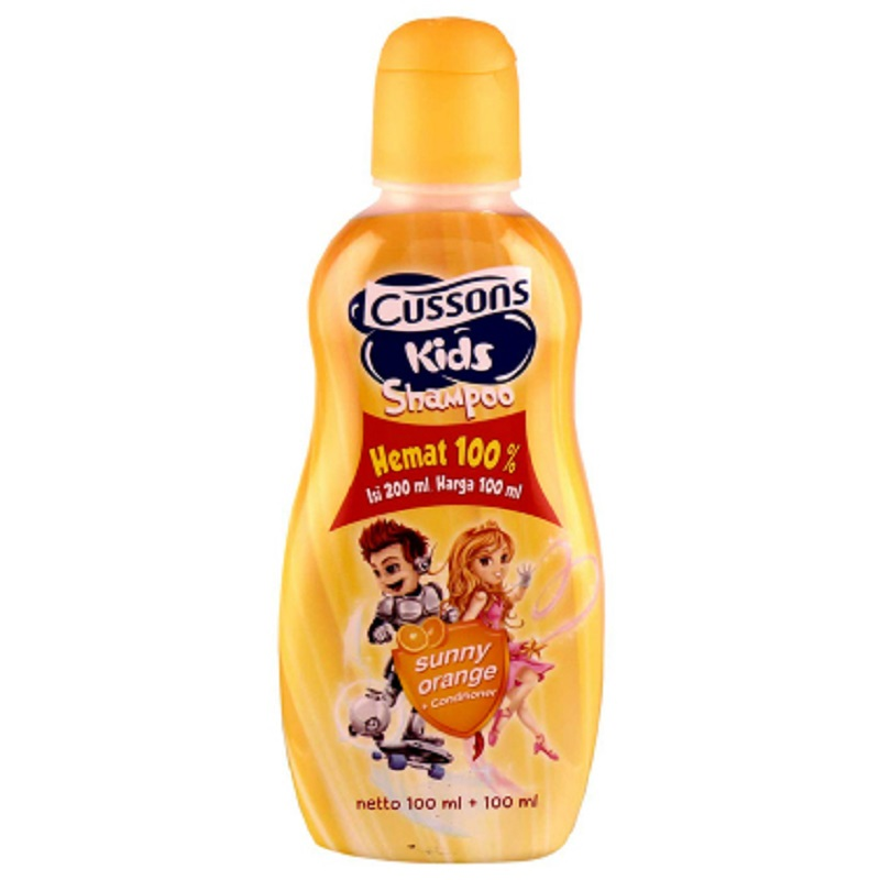Cussons Kids Shampoo Sunny Orange 200Ml