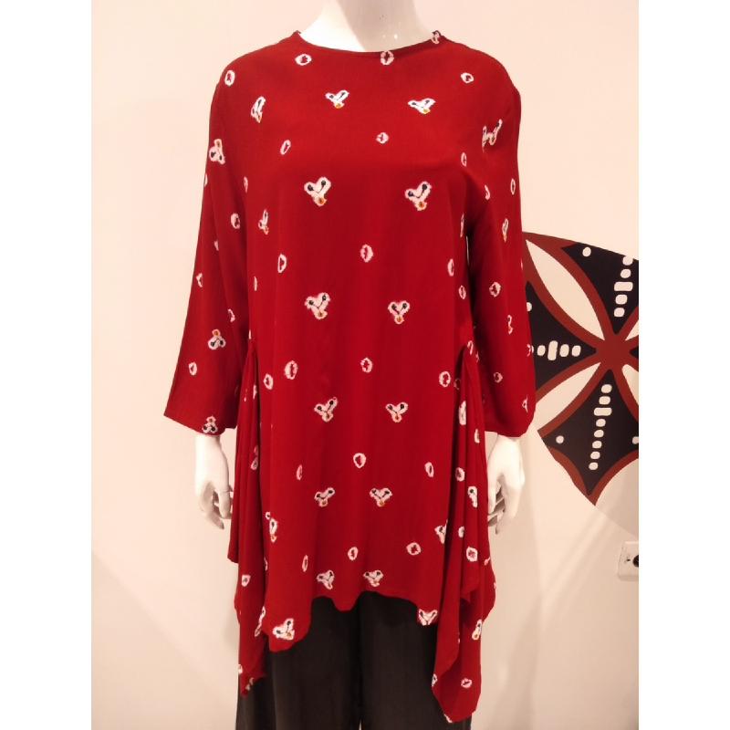 Astari Batik Blouse Red