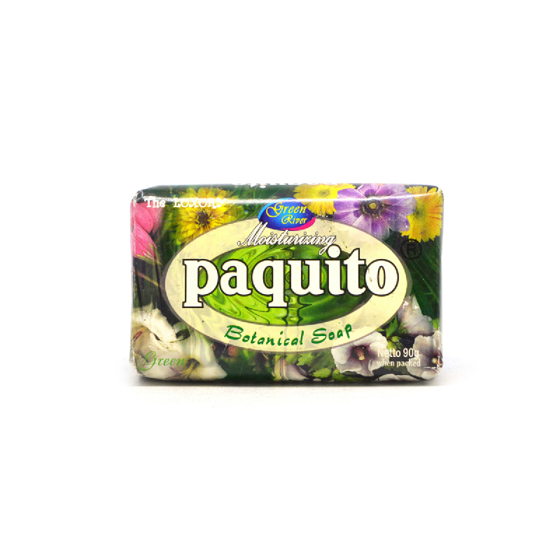 Paquito Soap Botanical Green River 90Gr