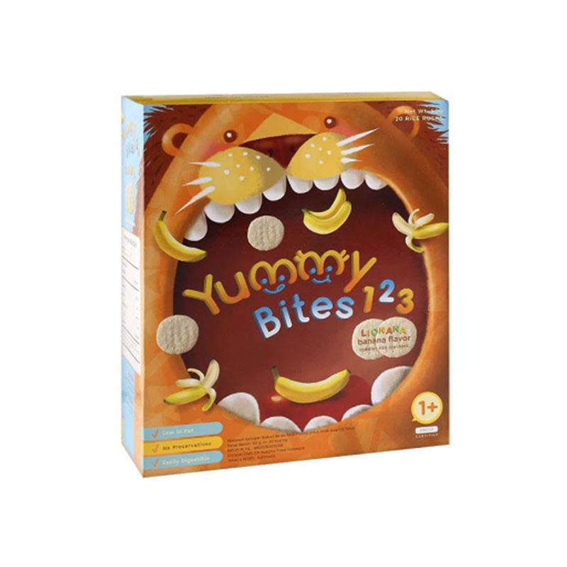 Yummy Bites 123 Snack Bayi Rasa Pisang 50 Gr