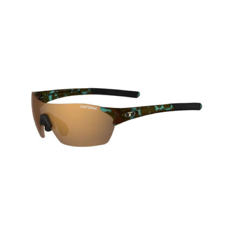 Tifosi Brixen Blue Tortoise Sunglasses 3 Lenses Brown-Ac Red-Clear