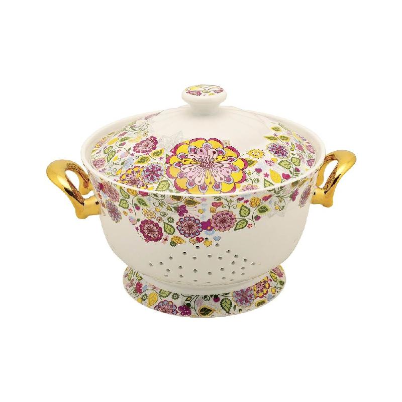 Vicenza Tableware Rice Bowl 26 Cm M09 Gardenia