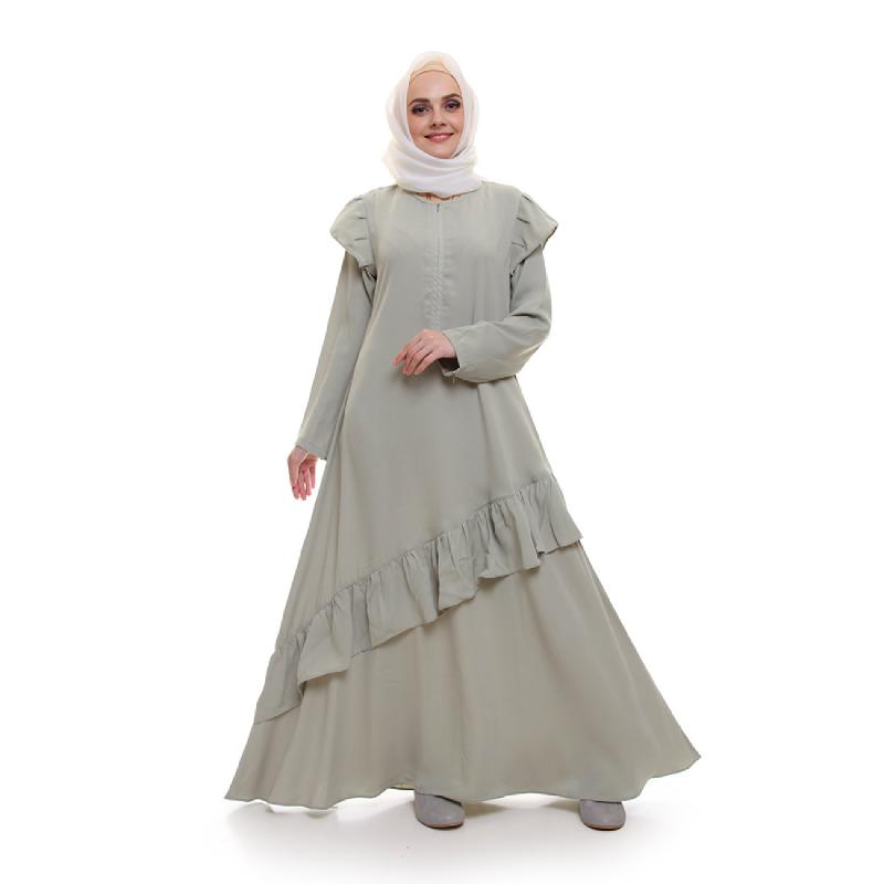 ALLEV Zalfa Dress Hijau