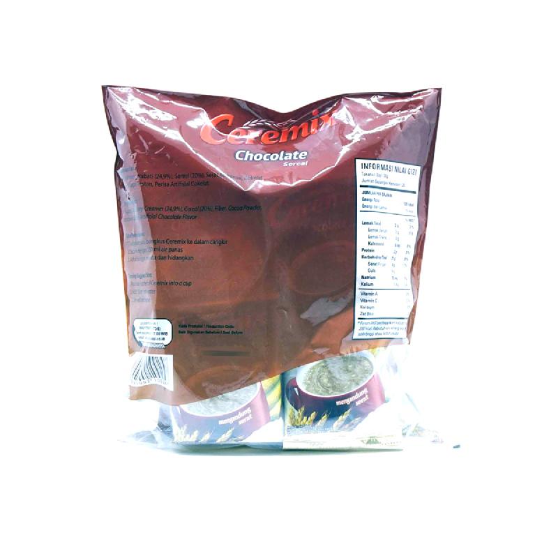 CEREMIX CEREAL CHOCO BAG (20x30G)