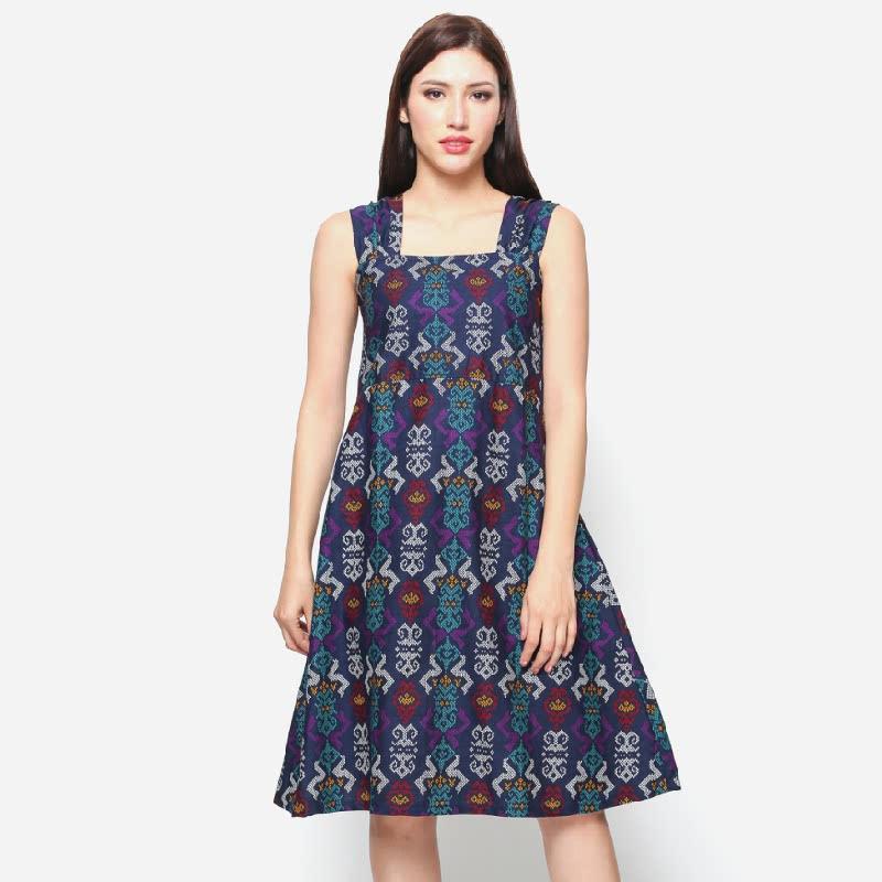 Anakara Square Neckline Dress Livina