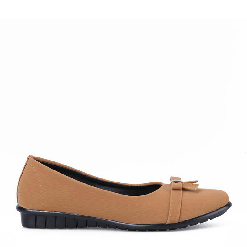 Anyolorich Flat Shoes SM04-Tan
