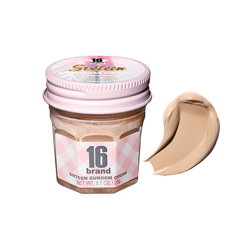 16brand Sixteen Guroom Cream Foundation SPF35 PA++ - 02. Sand Beige