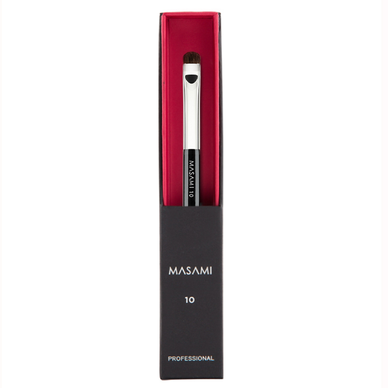 Masami Profesional Round & Flat Eye Shader Brush No. 10