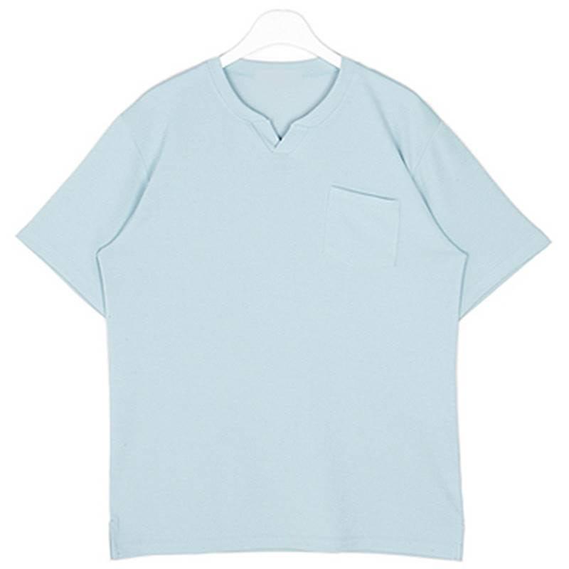 Pastel Vent T-shirt - Blue