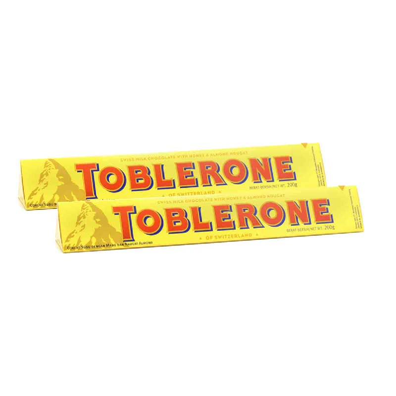 Toblerone Chocolate Milk 200 Gr (Buy 1 Get 1)