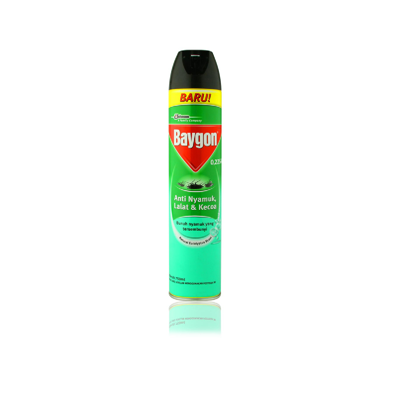 Baygon Aerosol Eucalyptus 750Ml