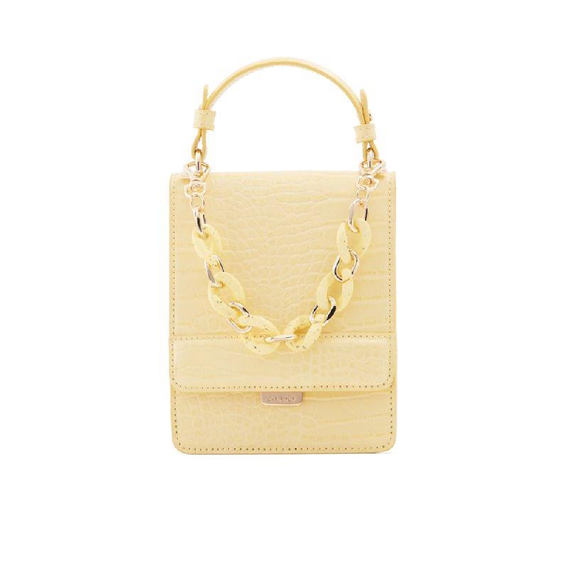 Aldo Ladies Cross Body Bags UNALITH-740-740 Light Gold