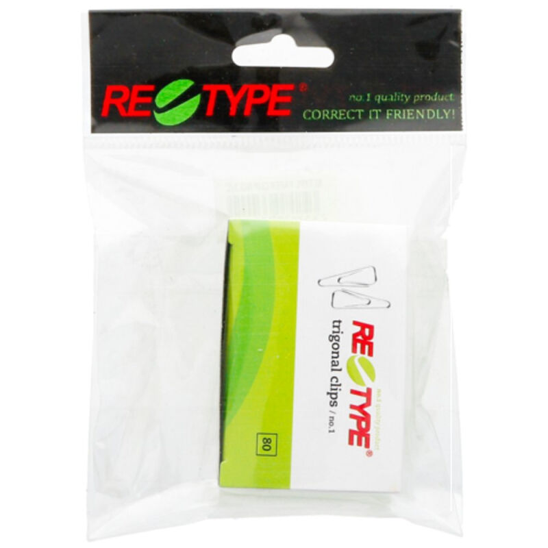 Retype Paper Clip No. 1 - 10Pcs