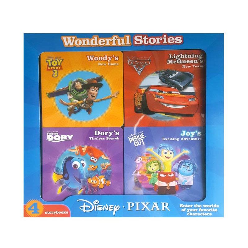 Disney Pixar 4 Books Box Set