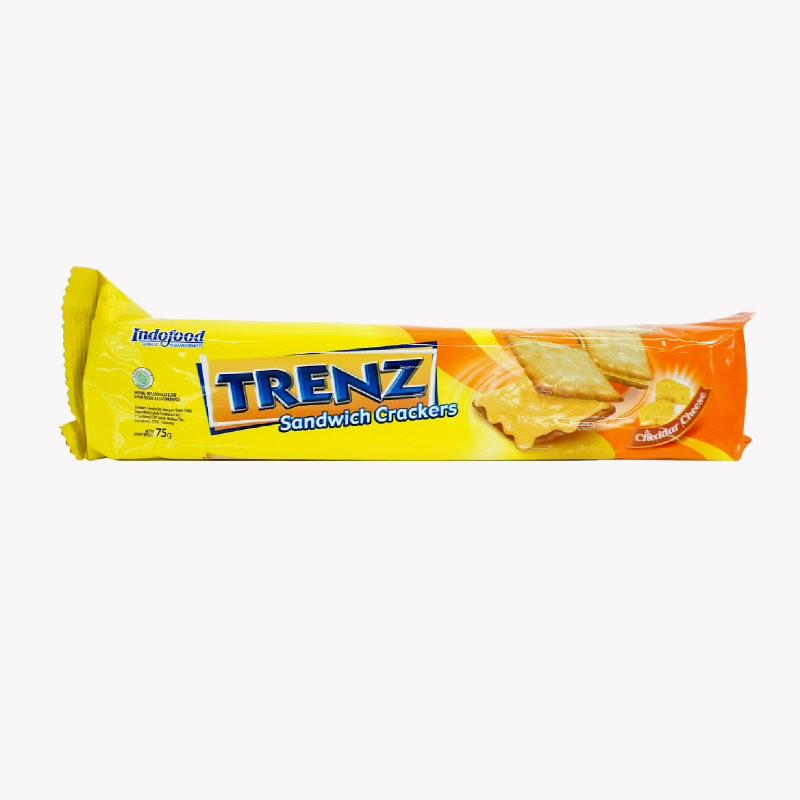 TRENZ SANDWICH CRACK CHEESE 75G