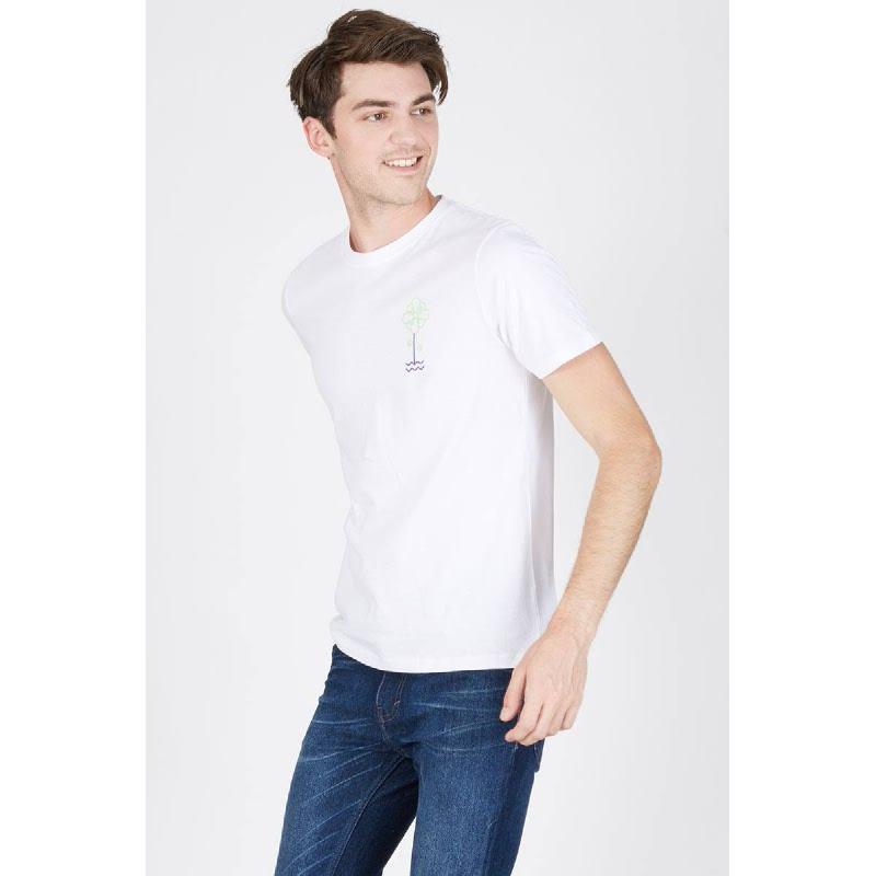 Men Feel The Nature Tshirt White
