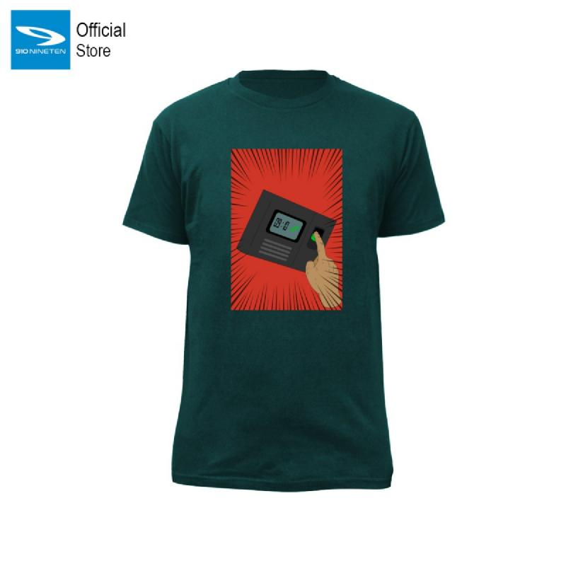 910 Nineten T Shirt Kay - Hijau Oranye