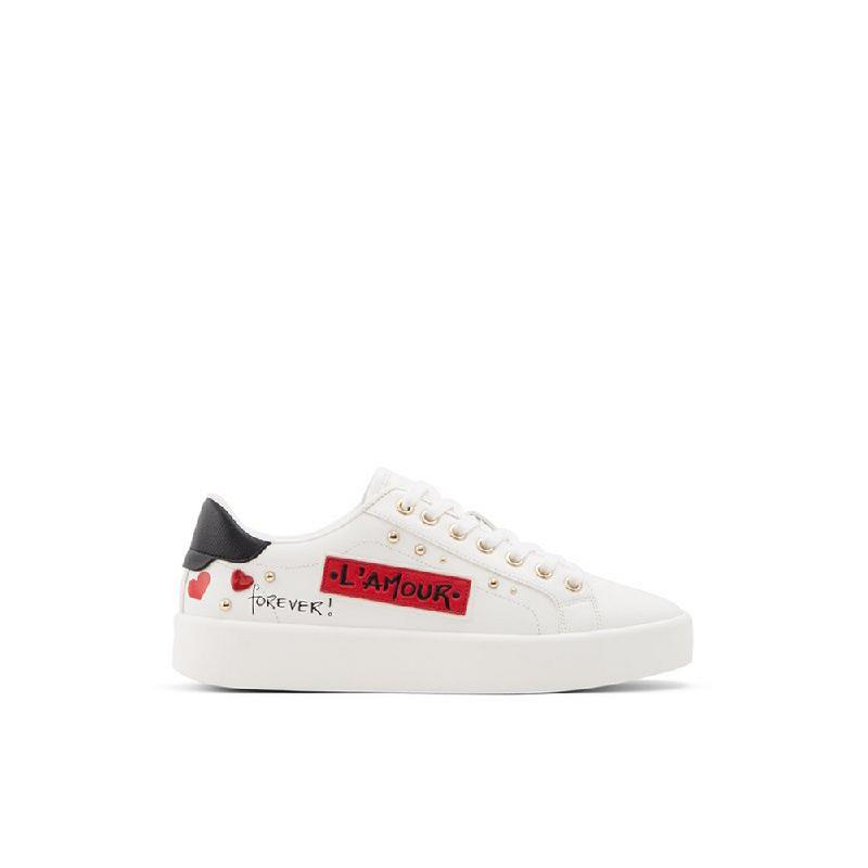 Aldo Ladies Shoes Sneakers AMORETTE-100-100 White