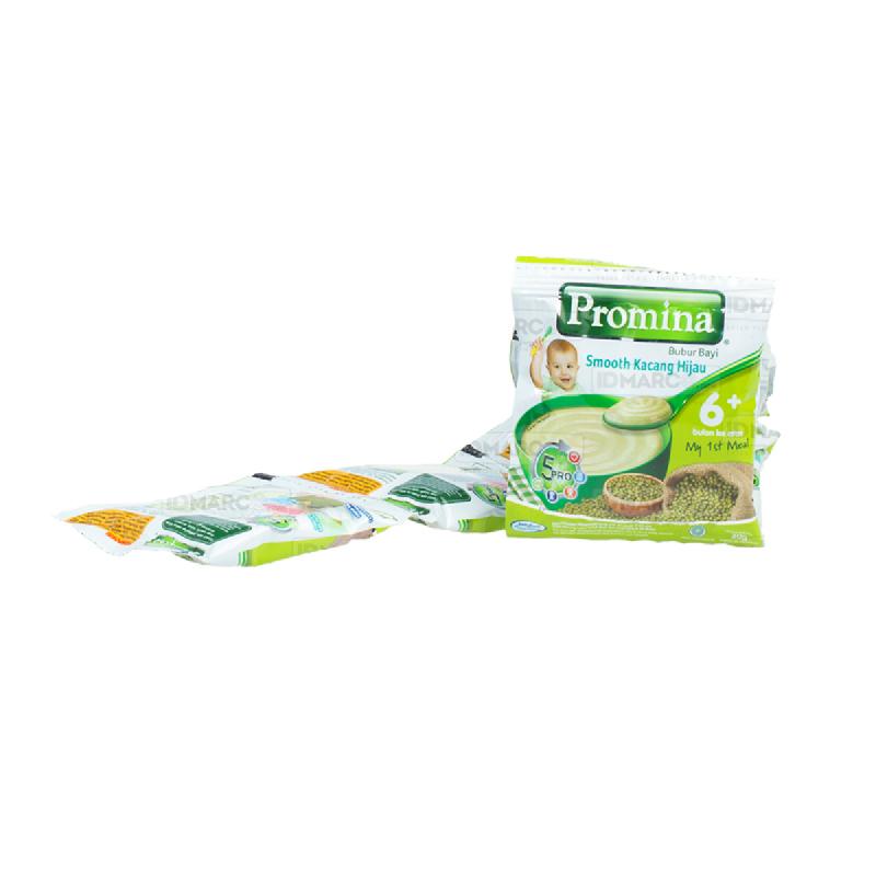 Promina Sereal Bayi Kacang Hijau Sachet 20 gr - 1 Box (80 sachet)